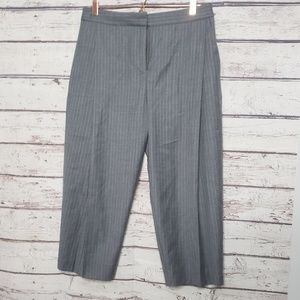 J.Crew Collection Pants Size 6 Grey Gray Wool
